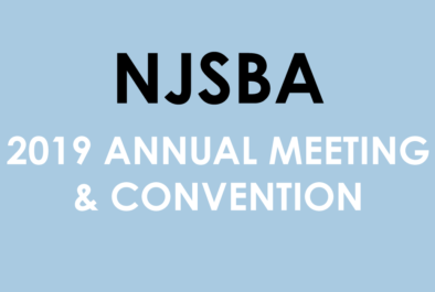 2019 NJSBA Annual Meeting and Convention