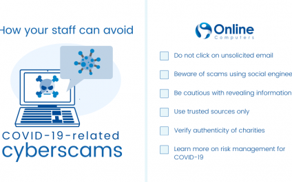Security tips: How your staff can avoid COVID-19-related cyberscams