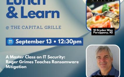 Lunch & Learn – September 13