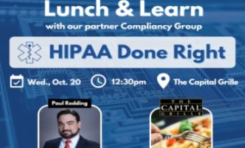 Lunch & Learn - October 20