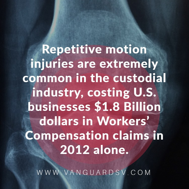 The Issue With In-House Cleaning Services - Repetitive Motion Injury