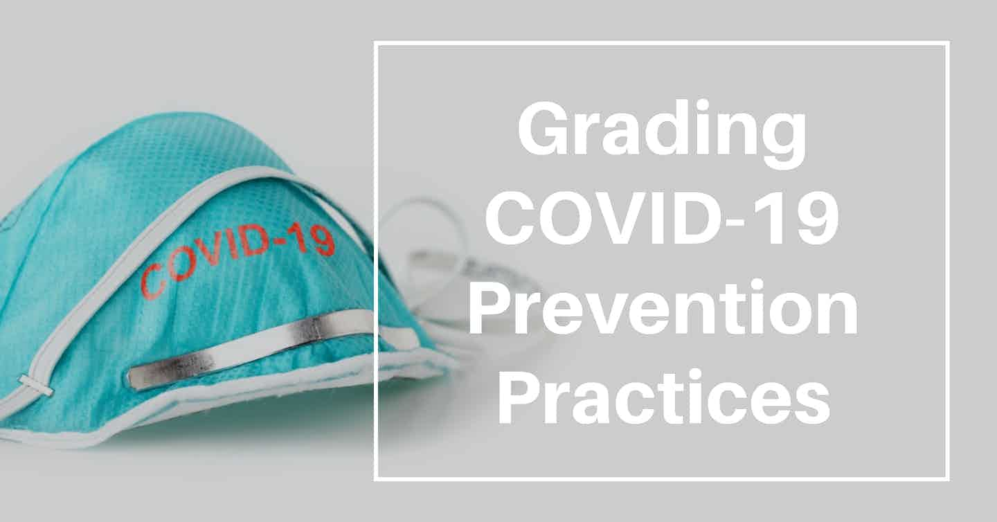 Grading COVID-19 Prevention Practices