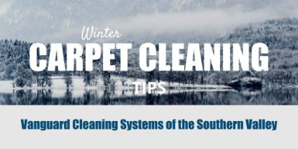 Carpet Cleaning Tips for the Winter