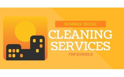 Restorative Summer Break Cleaning Services for Schools