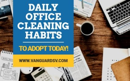 Daily Office Cleaning Habits to Adopt Today