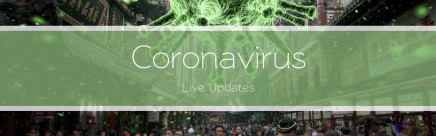 Coronavirus–Live Updates
