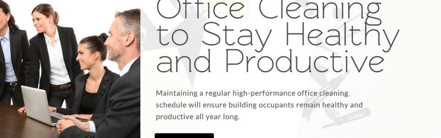 Office Cleaning to Stay Healthy and Productive