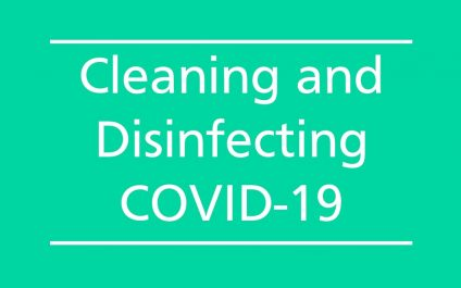Cleaning and Disinfecting COVID-19