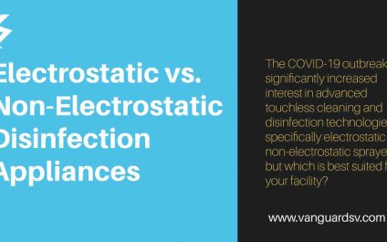 Electrostatic vs. Non-Electrostatic Disinfection Appliances