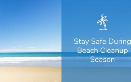 Stay Safe During Beach Cleanup Season