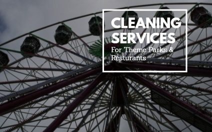 Cleaning Services for Theme Parks
