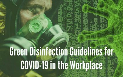 Green Disinfection Guidelines for COVID-19 in the Workplace
