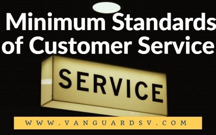 Janitorial Services Minimum Standards of Customer Service