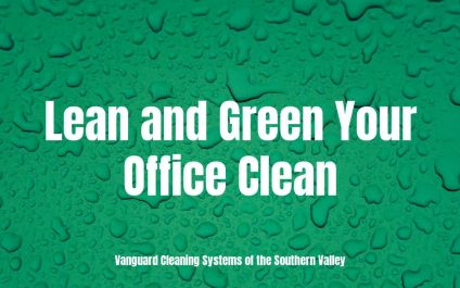 Lean and Green Your Office Clean