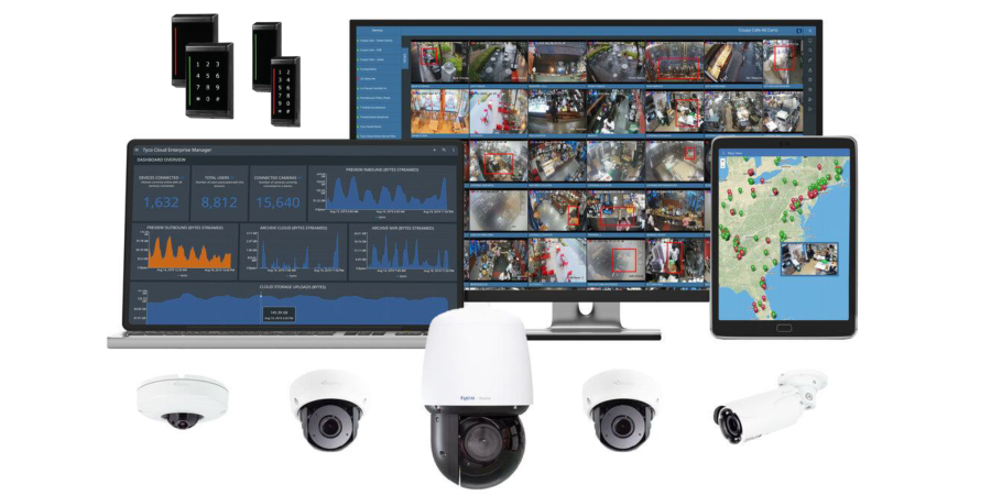 Tyco-Cloud-Access-Control-and-Illustra-Surveillance-Security-Cameras-banner
