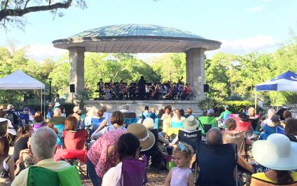 Music Under the Oaks Returns This Month