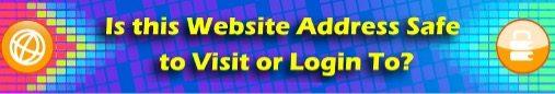 访问或登录此网站地址是否安全?