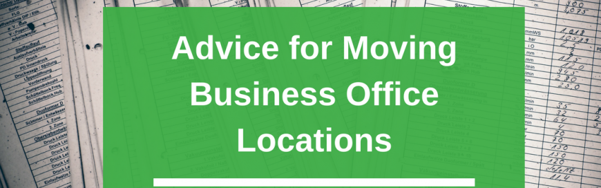 Advice for Moving Business Office Locations