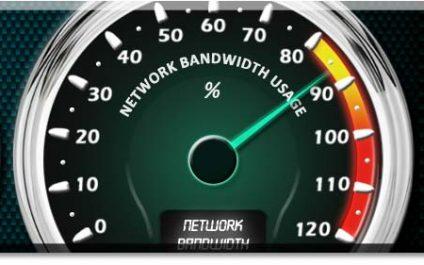 Internet bandwidth; where has it all gone ?