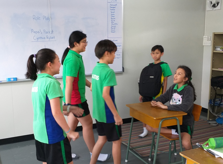 Grade 6 Explorers Language Arts Role Play