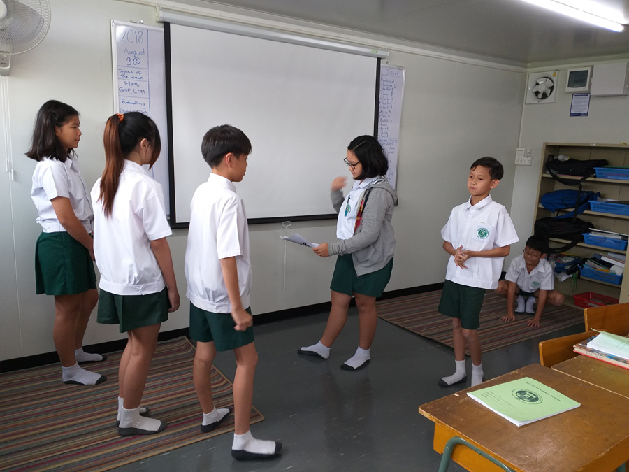 Grade 6 Language Arts Role-Play
