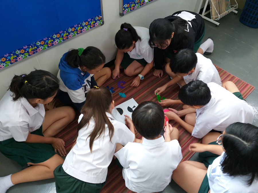Grade 6 Using Manipulative for Operations with Fractions
