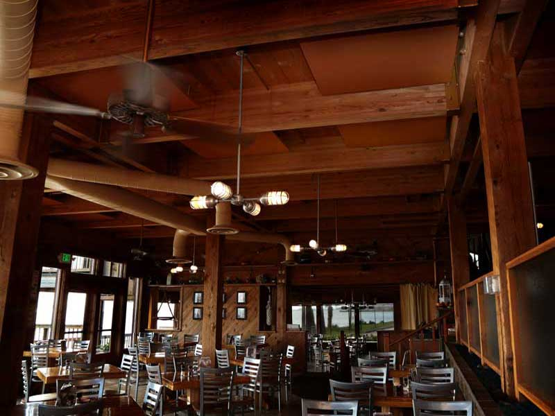 Acoustic Ceiling Panels for Restaurants