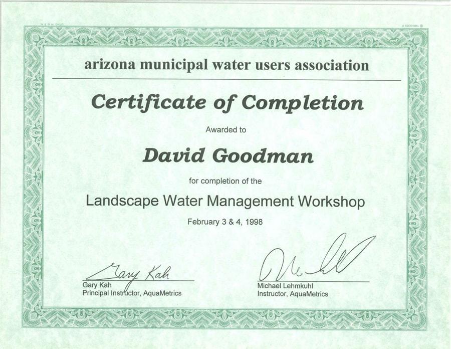 Landscape-Water-Management