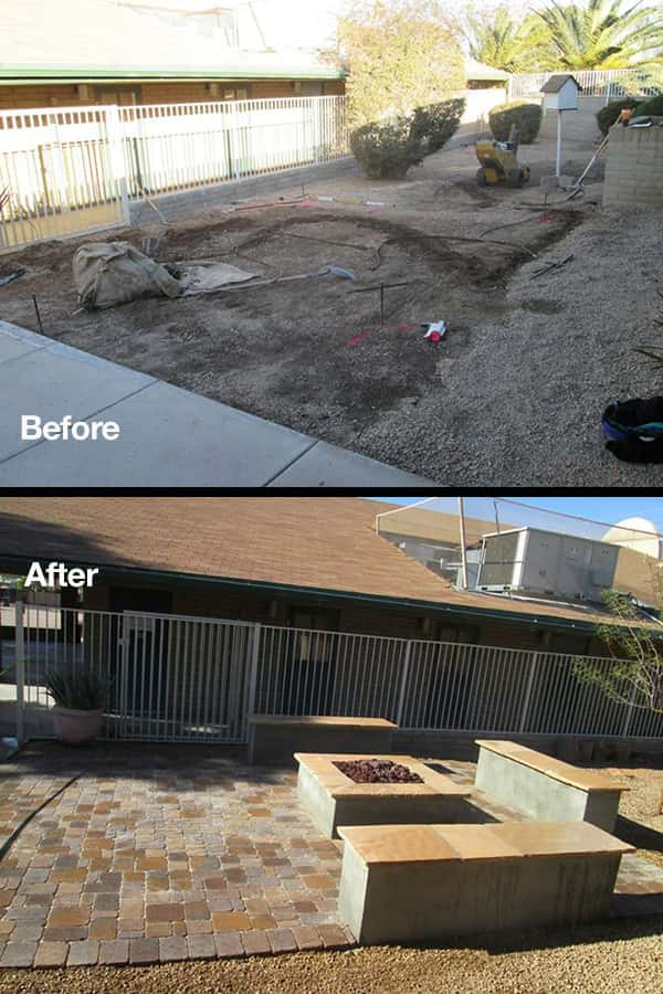 commercial-fire-pit-before-after