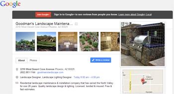Goodman's Landscape Google+