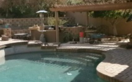 Paver Installation and Rustic Finish Natural Flagstone Patio Examples