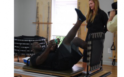 Stephen Tulloch credits Pilates at Equilibrium for his comeback!