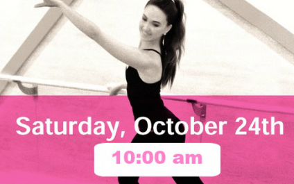 Plie for Pink with us October 24th!