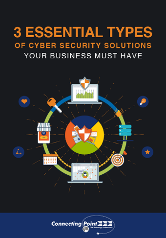 LD-ConnectingPoint-3-Essential-types-of-Cyber-Security-Solutions-eBook-Cover