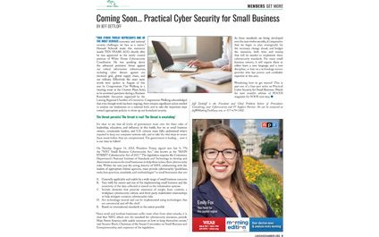 Coming Soon… Practical Cyber Security for Small Business