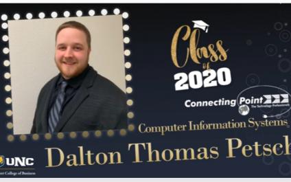 Congratulations to Dalton Petsch.