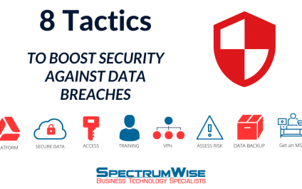 8 Tactics to boost security against data breaches