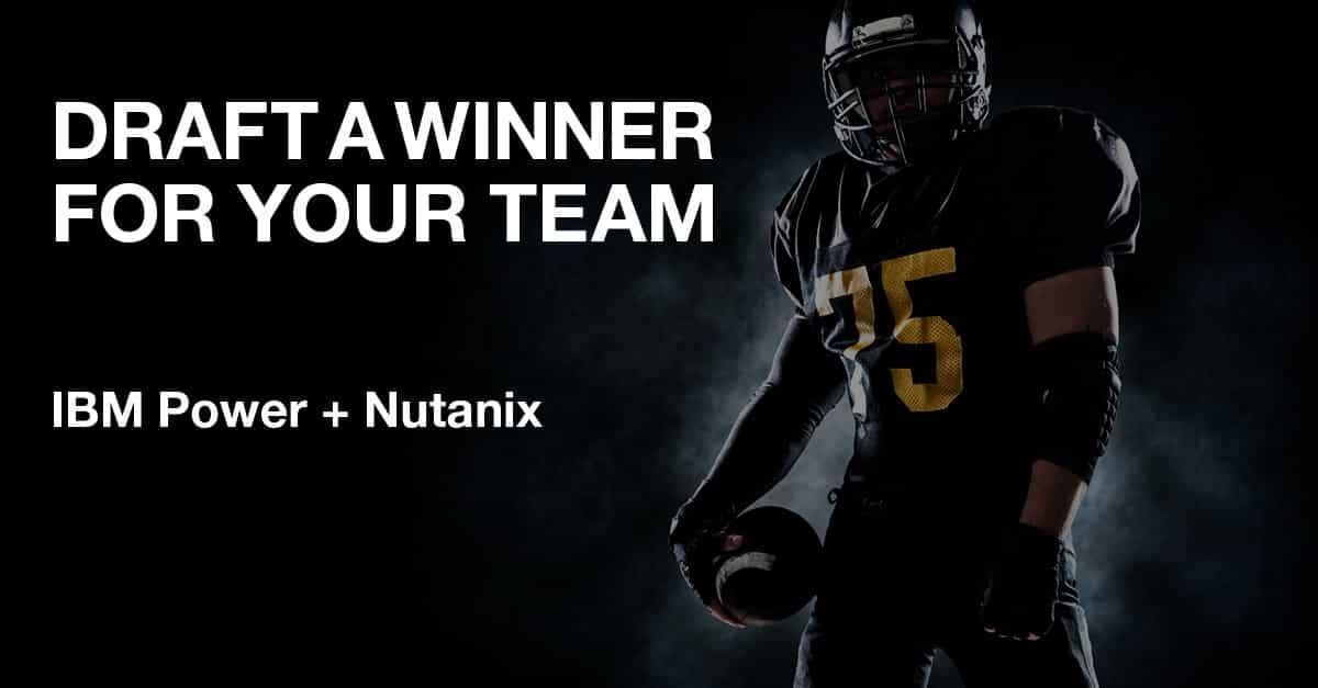 IBM Power Systems for Nutanix