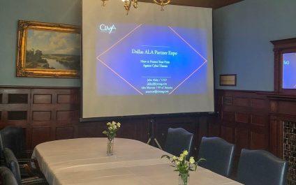 Dallas ALA Business Partner Expo:  Cybersecurity Presentation