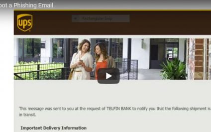 How to spot a Phishing Email Video