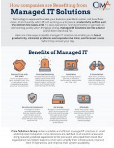 Seven Benefits of Managed IT Solutions