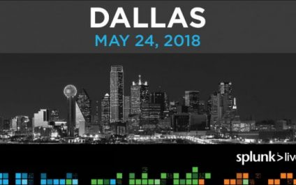 Great New Happenings from Splunk Live