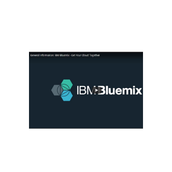 Introductory video on IBM Bluemix