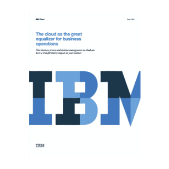 The cloud as the great equalizer for business operations
