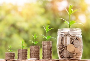 investment money growth relationship