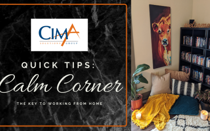 Quick Tips for Working from Home | How to Create a Calm Corner