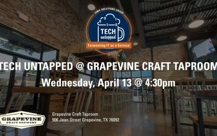 Mark your calendars: The inaugural Cima Tech Untapped event is happening April 13