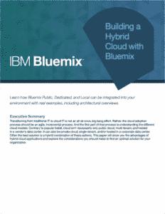 Building a Hybrid Cloud with Bluemix