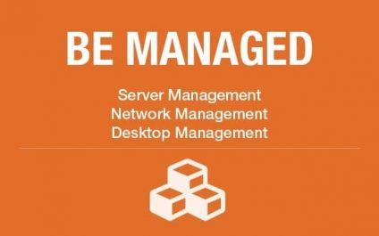 Managed desktops, servers and networks free you up for more important tasks