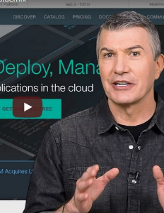 Overview and demonstration video of IBM Bluemix